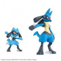 Figure Riolu and Lucario Plastic Model japan plush