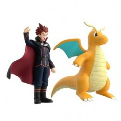 Figurine Peter & Dracolosse Scale World Kanto