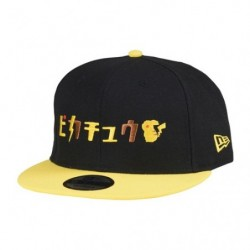 Cap Pikachu Katakana NEW ERA 9FIFTY japan plush