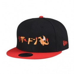 Casquette Dracaufeu Katakana NEW ERA 9FIFTY  japan plush