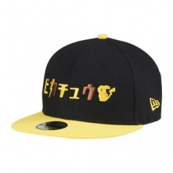 Casquette Pikachu Katakana NEW ERA Youth 9FIFTY  japan plush