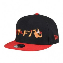Casquette Dracaufeu Katakana NEW ERA Youth 9FIFTY japan plush