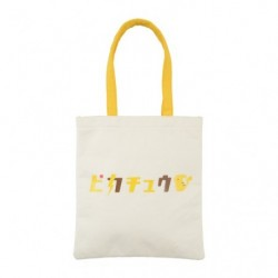 Tote Bag Pikachu Katakana japan plush