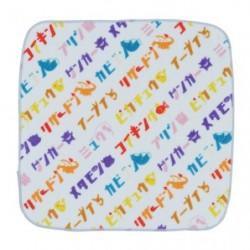 Serviette Mains Motif Global Katakana japan plush