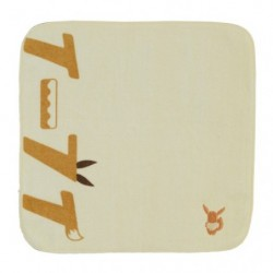 Hand Towel Eevee Katakana japan plush