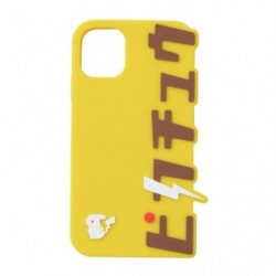 Iphone Cover Silicon Pikachu Katakana B japan plush
