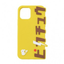 Iphone Cover Silicon Pikachu Katakana C japan plush