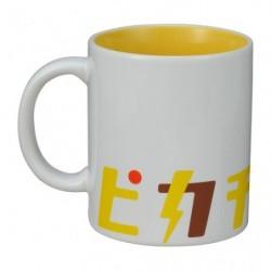 Mug Cup Pikachu Katakana japan plush
