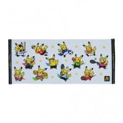 Serviette Visage Pokémon SPORTS japan plush