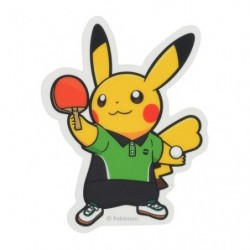 Sticker Pokémon SPORTS Table Tennis japan plush