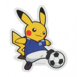 Sticker Pokémon SPORTS Soccer japan plush