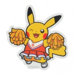 Sticker Pokémon SPORTS Cheerleader japan plush