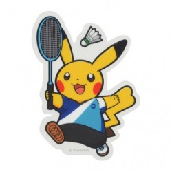 Sticker Pokémon SPORTS Badminton japan plush