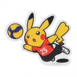 Sticker Pokémon SPORTS Voleyball japan plush