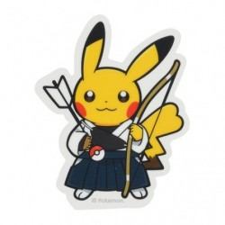 Sticker Pokémon SPORTS Kyudo japan plush