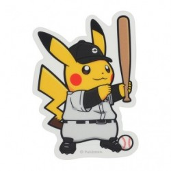 Sticker Pokémon SPORTS Baseball japan plush