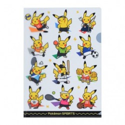Clear File Pokémon SPORTS japan plush