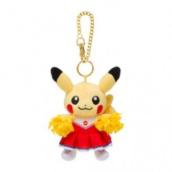 Peluche Porte Cle Pikachu Pokémon SPORTS Cheerleader japan plush