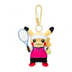 Peluche Porte Cle Pikachu Pokémon SPORTS Tennis japan plush