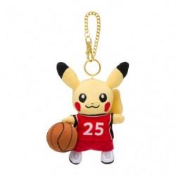 Peluche Porte Cle Pikachu Pokémon SPORTS Basketball japan plush