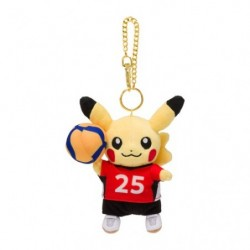 Plush Keychain Pikachu Pokémon SPORTS Volleyball japan plush