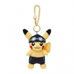 Plush Keychain Pikachu Pokémon SPORTS Swimming japan plush