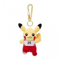 Plush Keychain Pikachu Pokémon SPORTS Athletics japan plush