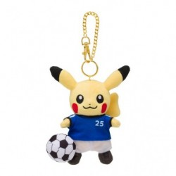Plush Keychain Pikachu Pokémon Soccer japan plush