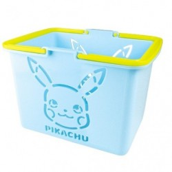 Basket Pikachu Mini Color Blue japan plush