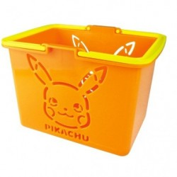 Basket Pikachu Mini Color Orange japan plush
