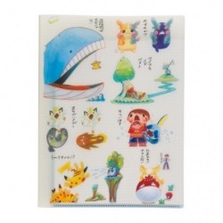 A4 Pochette Transparente Janai Pokemon-Tachi japan plush