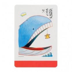 Sticker Statitik & Wailord Janai Pokemon-Tachi japan plush