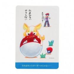 Sticker Voltoutou Janai Pokemon-Tachi japan plush