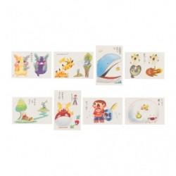 Carte Postale Janai Pokemon-Tachi japan plush