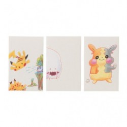 Envelope x3 Janai Pokemon-Tachi japan plush