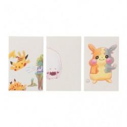 Enveloppe x3 Janai Pokemon-Tachi japan plush