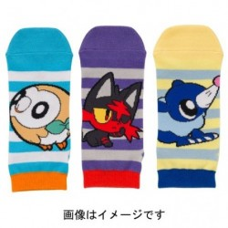 Short Sock 3x Set POKEMON POP japan plush