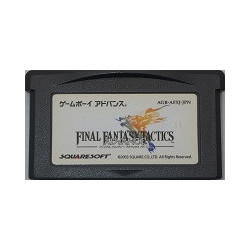 Final Fantasy Tactics Advance Game Boy Advance japan plush