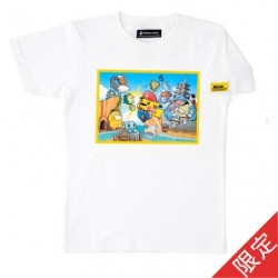 Limited Edition T Shirt Mario Pikachu Adult XL japan plush