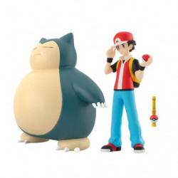 Figure Red Snorlax Pokemon Scale World japan plush