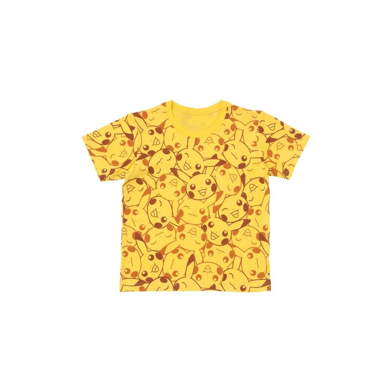 984ce727c T Shirt Pikachu Face Design - Meccha Japan
