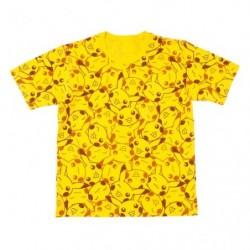 T Shirt Pikachu Face Design XL japan plush