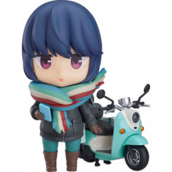Nendoroid Rin Shima: Touring Ver. Laid-Back Camp japan plush