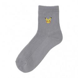 Chaussettes Pikachu Gris 23-25cm japan plush