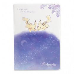 Agenda Mensuel B6 Ciel étoilé Pikachu number025 japan plush