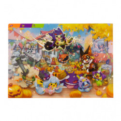 Clear File A4 Halloween Galar Garden japan plush