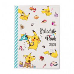 Agenda 2021 Pikachu Ronflex japan plush