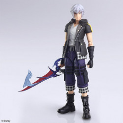 Figure Riku Version 2 Kingdom Hearts III Bring Arts japan plush