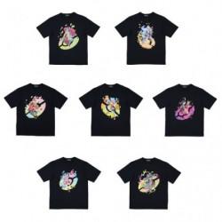 T-Shirt Personnage Féminin Pokémon Trainers japan plush
