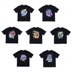 T-Shirt Personnage Masculin Pokémon Trainers japan plush